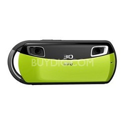 DXG USA 3D Camera and 3D Viewer Green