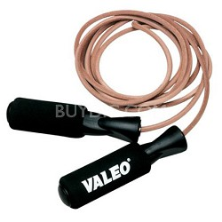 JRL Adjustable Length Leather Jump Rope