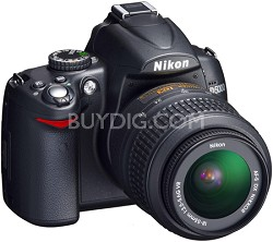 D5000 DX-Format Digital SLR Outfit w/ 18-55mm VR Zoom Lens
