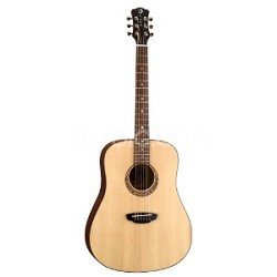 Gypsy Muse Acoustic Guitar, with Hardshell Case