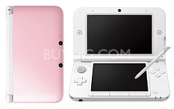 3DS XL Portable Gaming Console - Pink/White Limited Edition