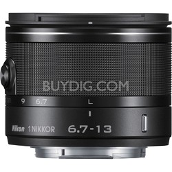 1 NIKKOR 6.7-13MM VR (Black) 3329 - Factory Refurbished