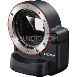 Alpha NEX Camera Mount Adaptor- Use A mount lenses on E mount cameras!