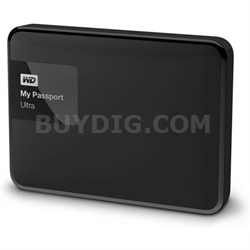 My Passport Ultra 3 TB Portable External Hard Drive, Black