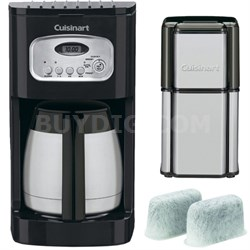 10-Cup Programmable Thermal Refurb Coffeemaker w/ Refurbished Bundle