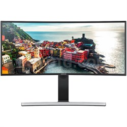 "S34E790C 34"" Curved WQHD Cinema Wide (3440x1440) Pro LED Monitor - OPEN BOX"
