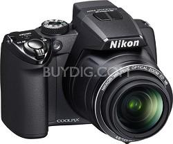 Coolpix P100 Digital Camera w/ 26x Zoom (Matte Black)