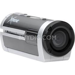 Xtreme Sports Full HD 1080p Waterproof Helmet Video Camera (Silver)