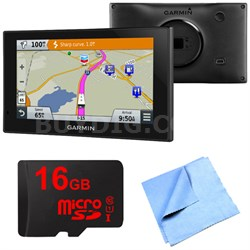 010-01535-00 - RV 660LMT Automotive GPS 16GB Micro SD Card Bundle
