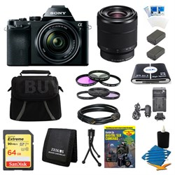 Alpha 7K a7K Full-Frame Interchangeable Lens Digital Camera 28-70mm Lens Bundle