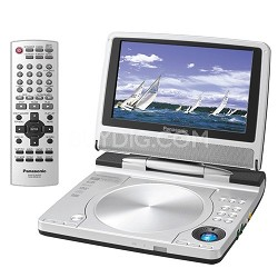 "DVD-LS55 7"" LCD Portable DVD Player with AM/FM Transmitter"