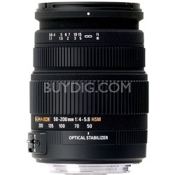 50-200mm F/4-5.6 DC HSM Sony Lens (Factory Refurbished)