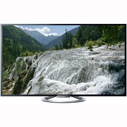 "KDL-55W802A 55"" 1080P 3D LED Internet HDTV w/ Built in Wi-Fi + Four 3D Glasses"