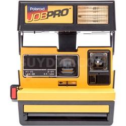 Polaroid 600 Job Pro Instant Film Camera, Built-In Automatic Flash (Yellow) 1288