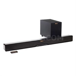 "Reference R-4B 2-Way Soundbar with Wireless 6.5"" Subwoofer - OPEN BOX"