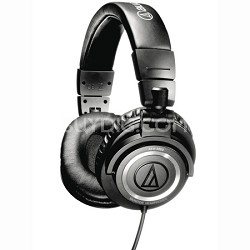 ATH-M50 Professional Studio Monitor Headphones with Coiled Cable