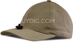 HC10KH Hat with Universal Mount for Hands-free Video Recording (Khaki)