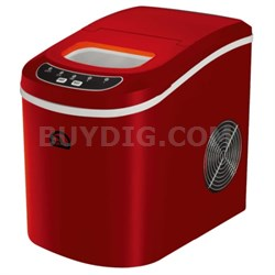 Compact Ice Maker (Red) - ICE102-RED - OPEN BOX