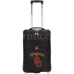 NCAA Denco 21-Inch Carry On Luggage -  USC Trojans