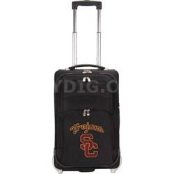 NCAA Denco 21-Inch Carry On Luggage -  USC Trojans