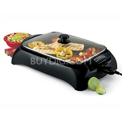 6111 Heart Smart Indoor Grill - Black - OPEN BOX