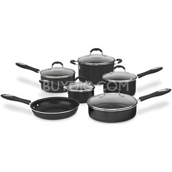 55-11 Advantage Non-Stick 11-Piece Cookware Set - Black