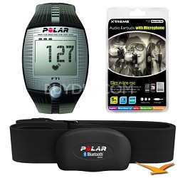 FT1 Heart Rate Monitor (Black) Bundle
