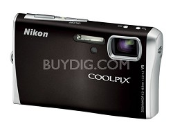 Coolpix S52c Wi-Fi Digital Camera (Black)