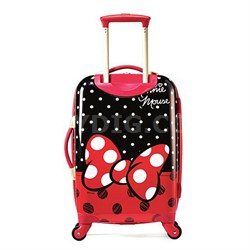 "67612-4754 21"" Hardside Spinner - Minnie Mouse Red Bow"