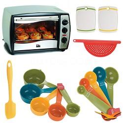 ETO-180 Elite Gourmet Toaster Oven Deluxe Bundle