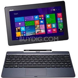 "Transformer Book T100TA-C1-RD(S) 10.1"" Detachable 2-in-1 Touchscreen Laptop, 64G"