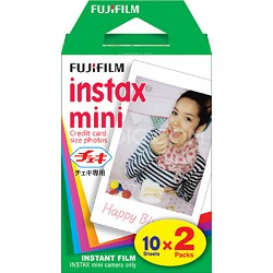 Instax Mini Twin Pack Picture Format Instant Daylight Film (20 Shots) 16386016