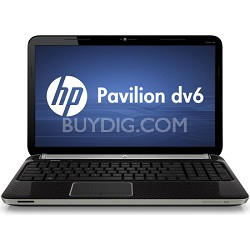 "Pavilion 15.6"" DV6-6C14NR Entertainment Notebook - Intel Core i5-2450M Processor"