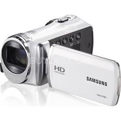 HMX-F90 52X Optimal Zoom HD Camcorder - White