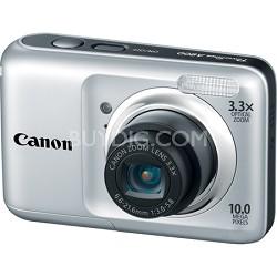 PowerShot A800 10MP Silver Digital Camera w/ 3.3x Optical Zoom