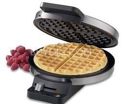 WMR-CA Round Classic Waffle Maker, Silver