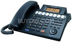KX-TS4300B 4-Line Speakerphone W/ Caller ID, &  Digital Answering System