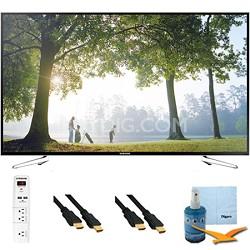 """UN75H6350 - 75"""" HD 1080p Smart HDTV 120Hz with Wi-Fi Plus Hook-Up Bundle"""