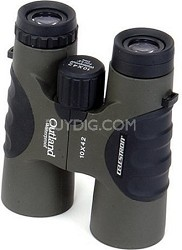 Outland 10X42 Waterproof Binoculars with Rubber Coating & Comfort Grip