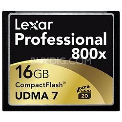 16 GB Professional 800x Compact Flash (LCF16GCTBNA800)