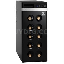 12 Bottle Wine Cellar with Digital Controls (Black) - FRW1213