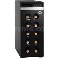 12 Bottle Wine Cellar with Digital Controls (Black) - FRW1213