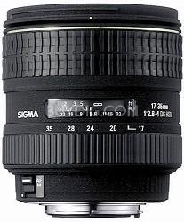 Super Wide Angle Zoom 17-35mm f/2.8-4.0 EX DG Aspherical HSM AF Lens for Canon