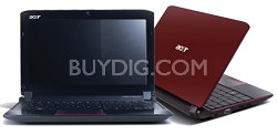 """Aspire one 10.1"""" Netbook PC - Red (AO532H-2406)"""