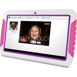 "FunTab XL 9"" Multi-Touch Screen Kid Safe Pink Tablet w/ Android 4.1, Jelly Bean"