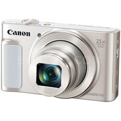 PowerShot SX620 HS 20.2MP Digital Camera, 25x Optical Zoom & Wi-Fi - Silver