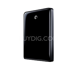 FreeAgent Go Flex 320 GB USB 2.0 Portable External Hard Drive (Black)