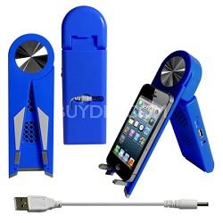 Stand Speaker for Tablets & Smartphones in Blue