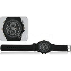 Covert Video Watch with 4 GB Internal Memory