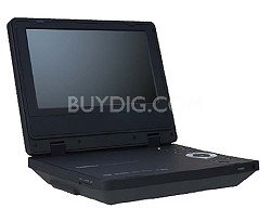 "SD-P71S Portable DVD Player w/ 7"" LCD Display"